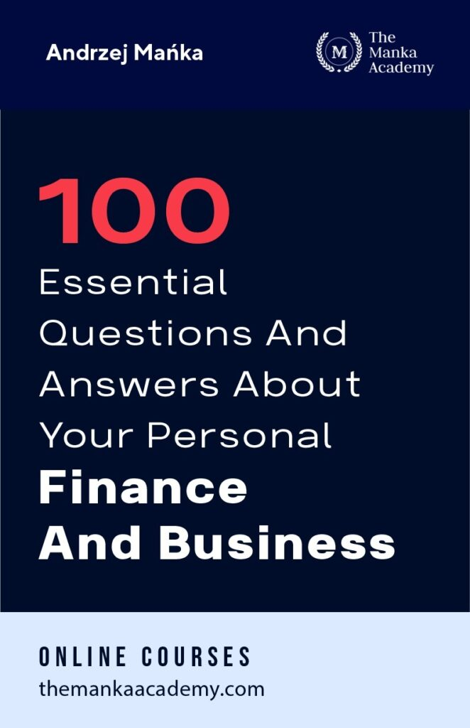 Pre-sale: 100 essential questions and answers about your personal finance and business